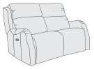 Derek Power Motion Loveseat Product Image
