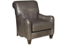 Glenda Leather Chair, Glenda Ottoman