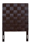 (LS) Headboard Square Dark Brown B TW (41.3x2.4x60) Product Image