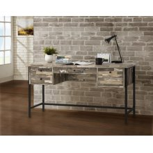 Industrial Salvaged Cabin Writing Desk