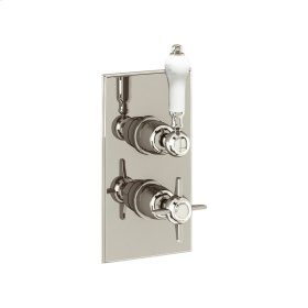 Arcade 1000 Thermo Valve Trim (1 Outlet) - Polished Nickel