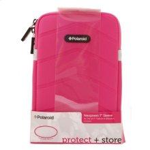 Polaroid Plush Neoprene 7 Inch Tablet Sleeve, Pink - PAC170PK