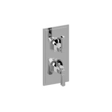 Finezza UNO Thermostatic 2-Hole Trim Plate and Handle