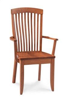 Justine Arm Chair, Fabric Cushion Seat