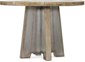 Urban Elevation 44in Metal Dining Table