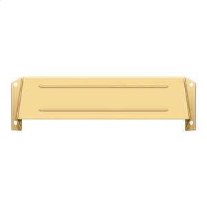 Letter Box Hood - PVD Polished Brass Product Image