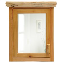 Medicine Cabinet - 27-inch - Natural Cedar - Hinge Right