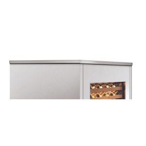 """24"""" Integrated Stainless Steel Top Panel"""
