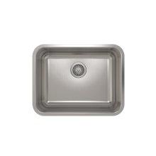 ProInox E200 Single Bowl Undermont Kitchen Sink ProInox E200 18-gauge Stainless Steel, 21'' x 16'' x 9''