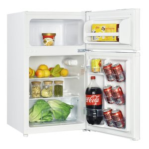 Avanti3.1 CF Two Door Counterhigh Refrigerator - White