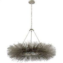 Visual Comfort KW5181BSL Kelly Wearstler Strada 16 Light 40 inch Burnished Silver Leaf Chandelier Ceiling Light