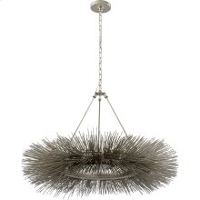 Visual Comfort KW5181BSL Kelly Wearstler Strada 16 Light 40 inch Burnished Silver Leaf Chandelier Ceiling Light