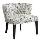 Hudson Ebony Crazy Pattern Lounge Chair Product Image