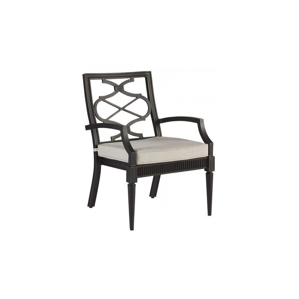 Morrissey Outdoor Phillips Arm Dining Chair - Patio Furniture In Houston, TX