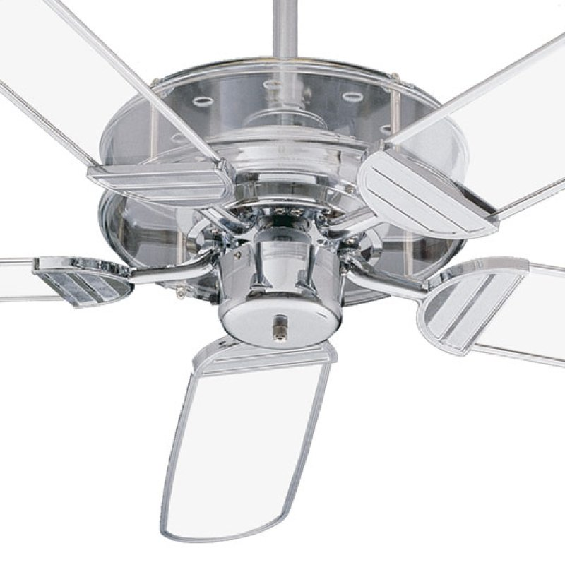 40052514 in by quorum international in bossier city la prizzm prizzm chrome ceiling fan clear acrylic ch trim blades hidden mozeypictures Images