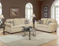 Summer Wheat / Charmed Taupe Loveseat Product Image