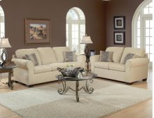 Summer Wheat / Charmed Taupe Sofa