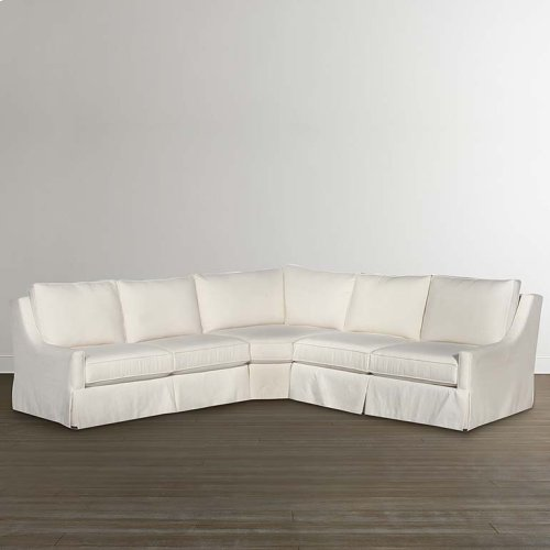 Designer Comfort Fairmont Small L-Shaped Sectional