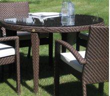 """Atlantis Patio Woven Round 47"""" Table"""