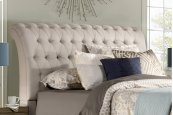 Richmond Headboard - King - Linen Stone