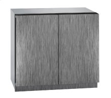 "Modular 3000 Series 36"" Wine Captain® Model With Integrated Solid Finish and Double Doors Door Swing"