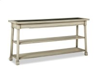 Classic Foundry Console Table w/Glass Product Image