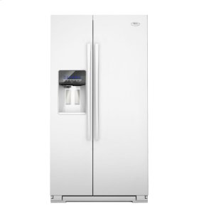 26 cu. ft. Side-by-Side Refrigerator with MicroEtch™ Shelves