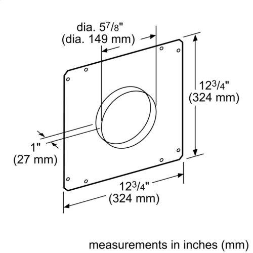 Accessory for ventilation HDDFTRAN6 00777714