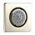 Additional Extender Square Body Spray - Brushed Nickel