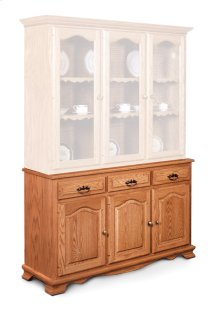 "Classic Hutch Base, Large, Classic Hutch Base, 61 1/2"", 22"" Base"