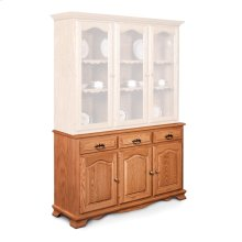 "Classic Hutch Base, Large, Classic Hutch Base, 61 1/2"", 18"" Base"