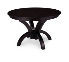Adeline Single Pedestal Table, 1 Leaf