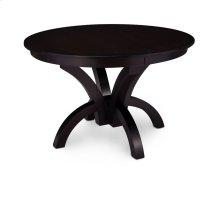 Adeline Single Pedestal Table, 1 Leaf