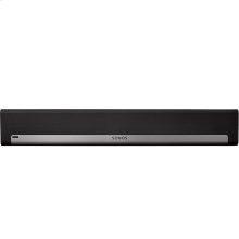 Black- The mountable soundbar for TV, films, music, and more.