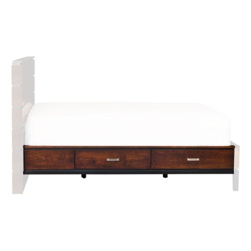 Frisco 2-Drawer Under-Bed Storage, Two Drawers Single Side Only, Fits Twin