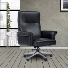 DC#119 Cyclone Leather Desk Chair
