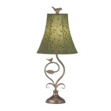 Bird and Leaf Lamp. 60W Max.