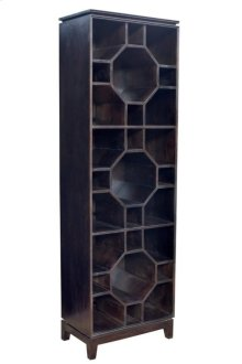 Bengal Manor Mango Wood Octogon 3 Tier Bookshelf