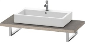 Console For Above-counter Basin And Vanity Basin, Cashmere Oak