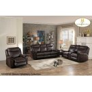 Double Glider Reclining Loveseat with Console Product Image