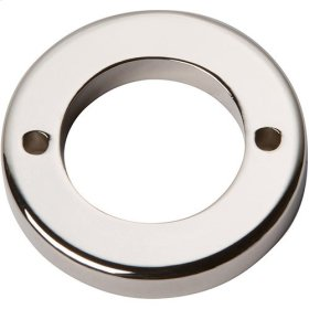 Tableau Round Base 1 7/16 Inch - Polished Nickel