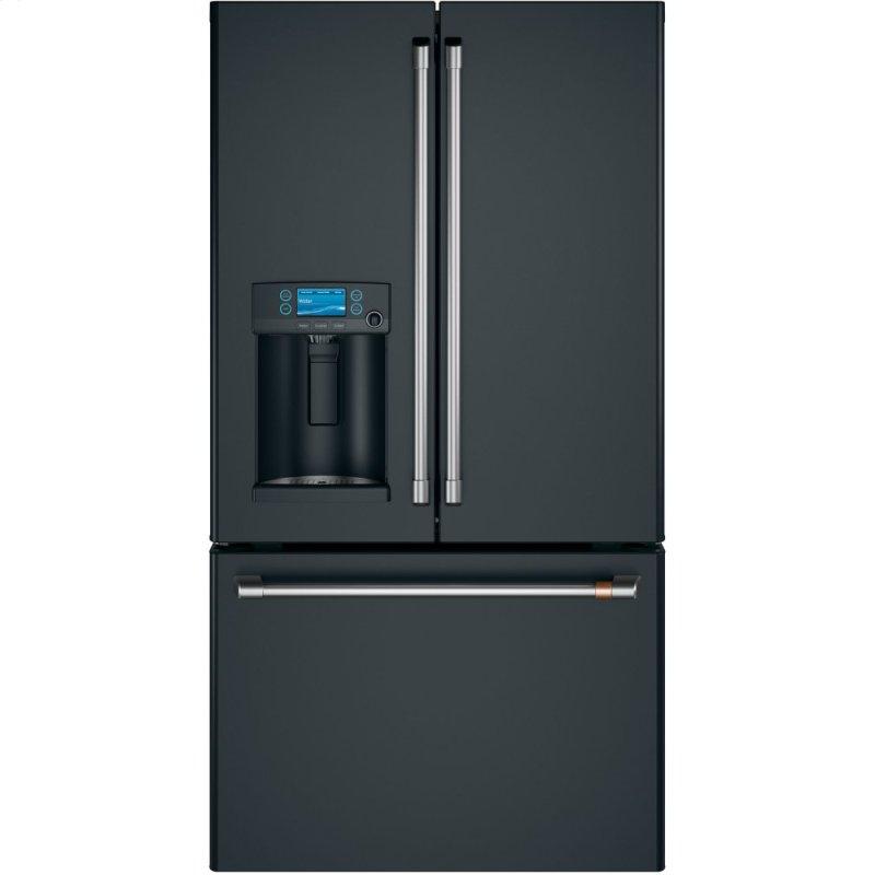 ENERGY STAR ® 27.7 Cu. Ft. Smart French-Door Refrigerator with Hot Water Dispenser