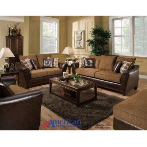 American Furniture Manufacturing3200 - New Era Walnut Sofa