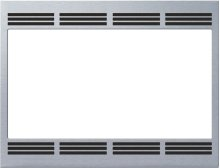 """27"""" Built-in Trim Kit for Traditional Microwave HMT5750 - Stainless Steel"""