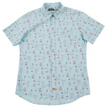 Traeger X AMBSN Woven Short Sleeve Button Up Shirt