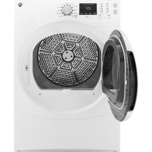 GE® 7.5 cu. ft. capacity frontload dryer
