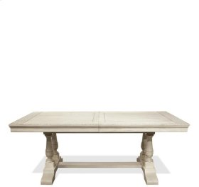 Aberdeen Table Base 80 lbs Weathered Worn White finish