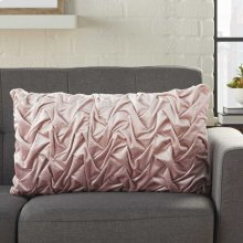 "Life Styles L0064 Blush 14"" X 24"" Throw Pillows"