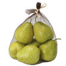 Faux Bartlett Pear,6Pc/Bag