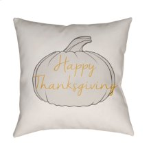 "Happy Thanksgiving HPY-001 20"" x 20"""